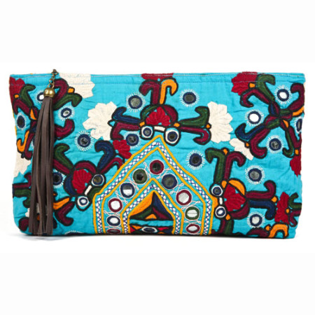Shiva Clutch Blue - JADEtribe / jade tribe