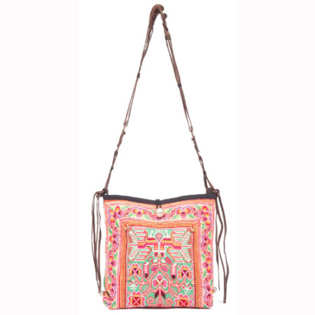 Elizabeth Messenger Pink - JADEtribe / jade tribe