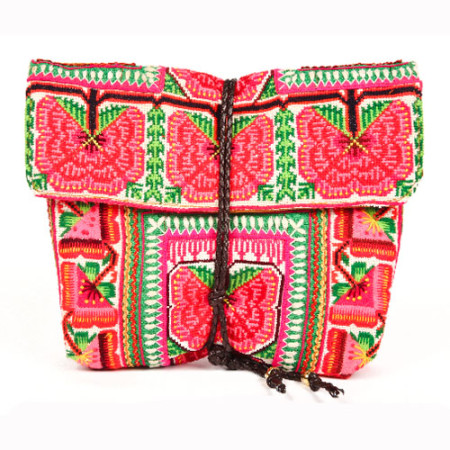 Elizabeth Fold clutch Pink - JADEtribe / jade tribe